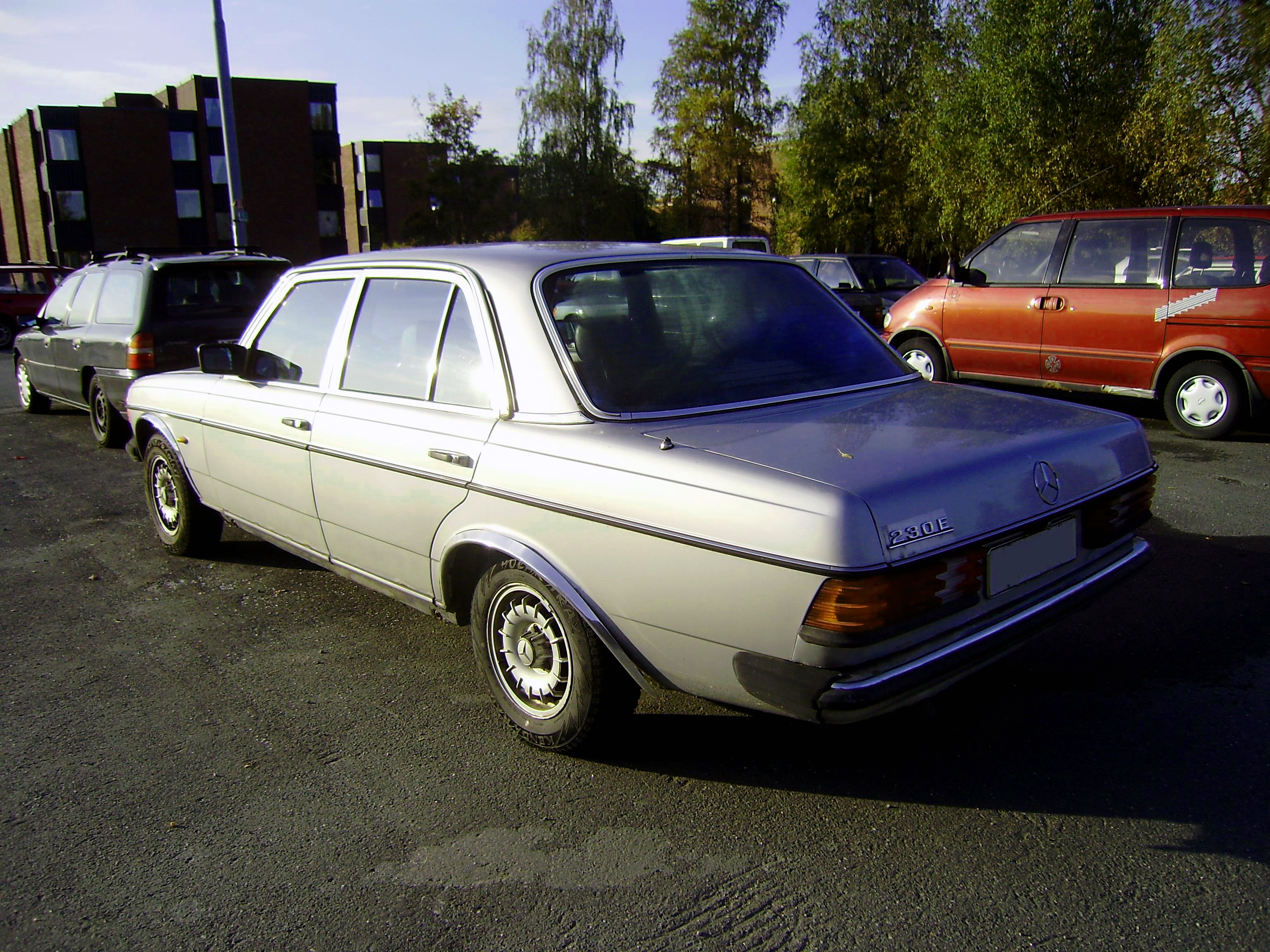 Mercedes benz w123 230e the solobugas experience for Mercedes benz w123