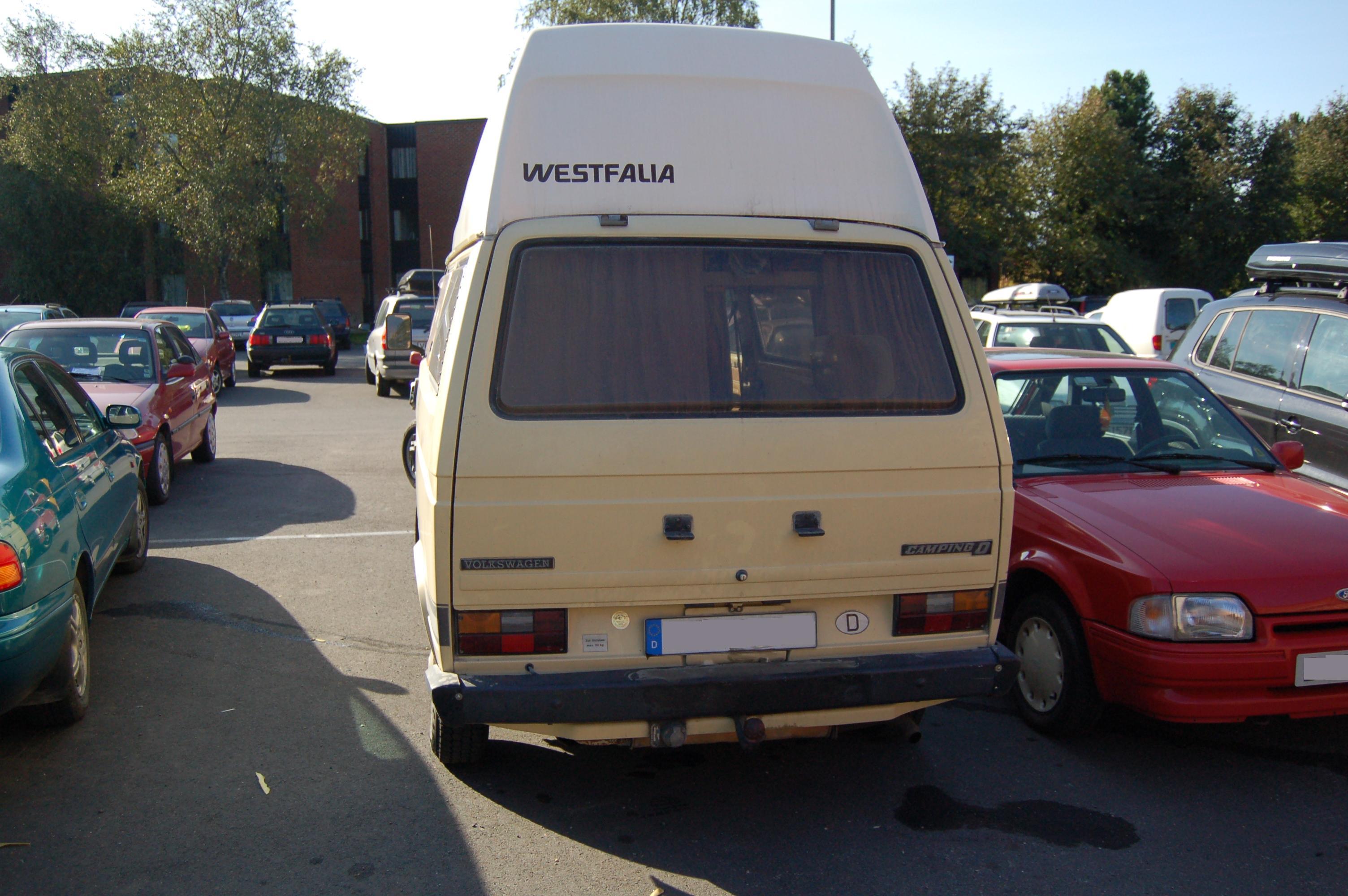 Volkswagen T3 Westfalia Camper